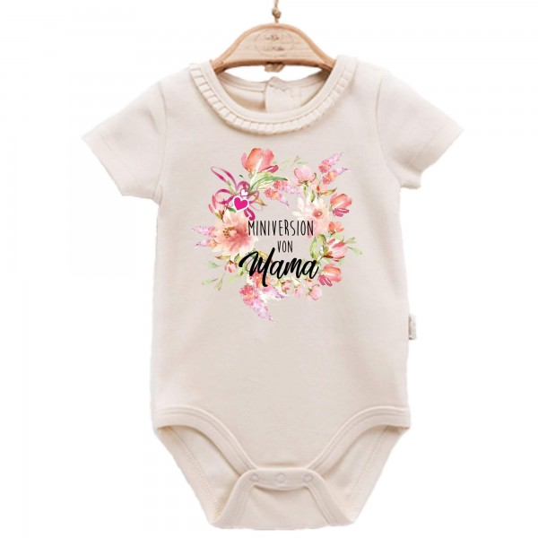 Baby Body kurzarm elegant Muttertag Edition