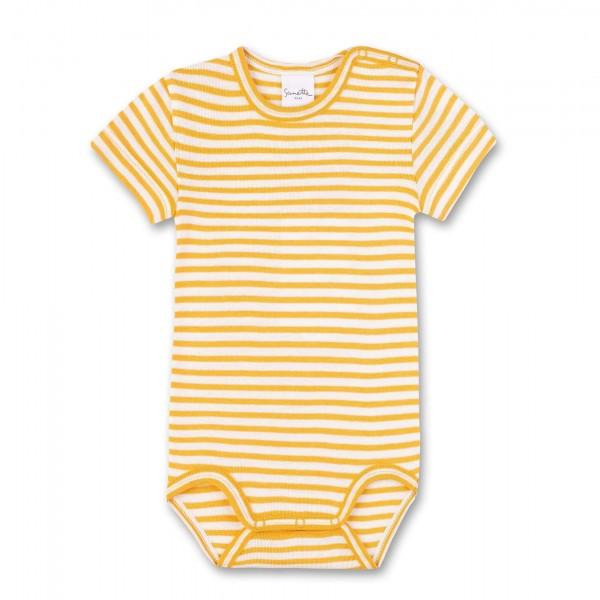 Sanetta Pure Body gestreift gelb