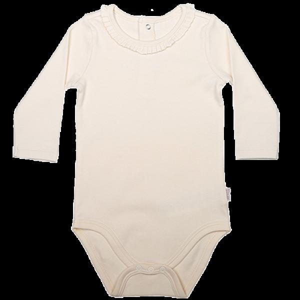 Baby Body langarm Mädchen elegant personalisieren