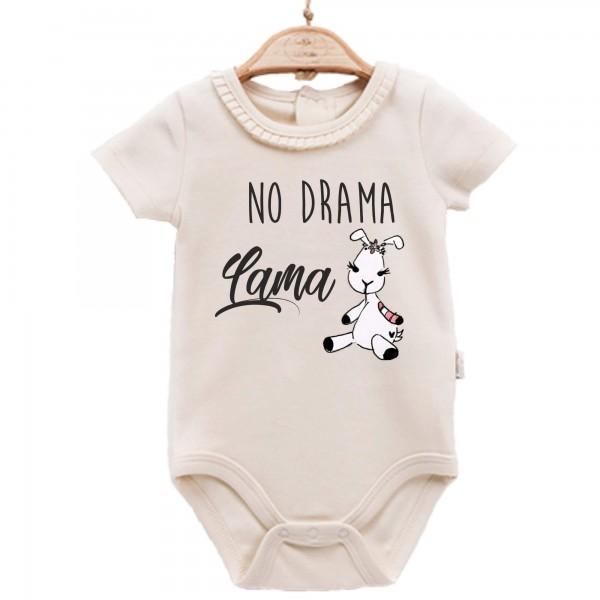 Baby Body kurzarm elegant Lama No Drama