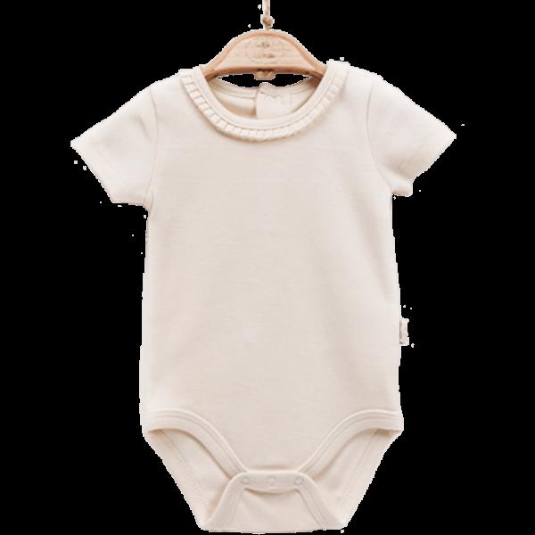 Baby Body kurzarm Mädchen elegant personalisieren