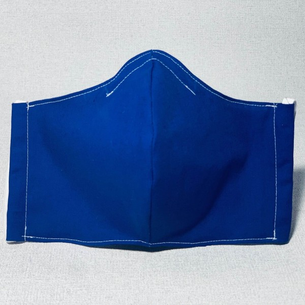 Stoffmaske Blau