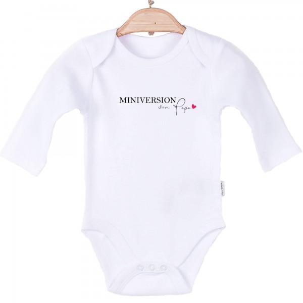 Baby Body langarm weiß Miniversion