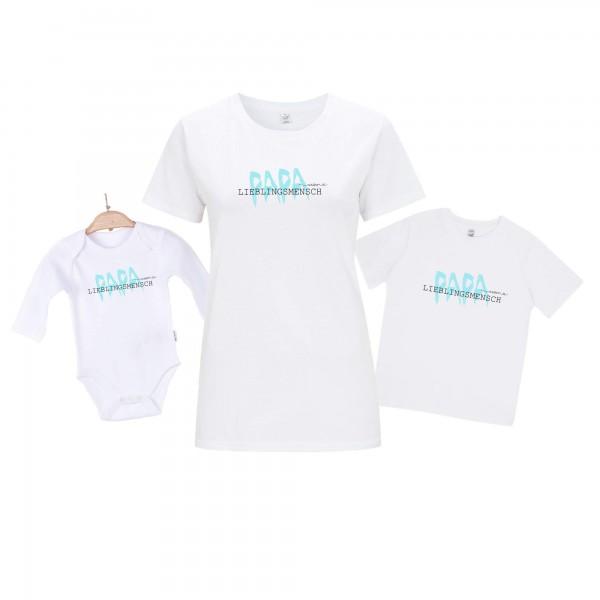 Baby Body Langarm weiß Vatertag Edition 3er Set