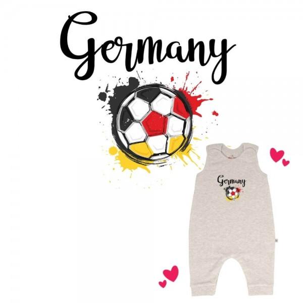 Strampler grau ohne Füße Germany